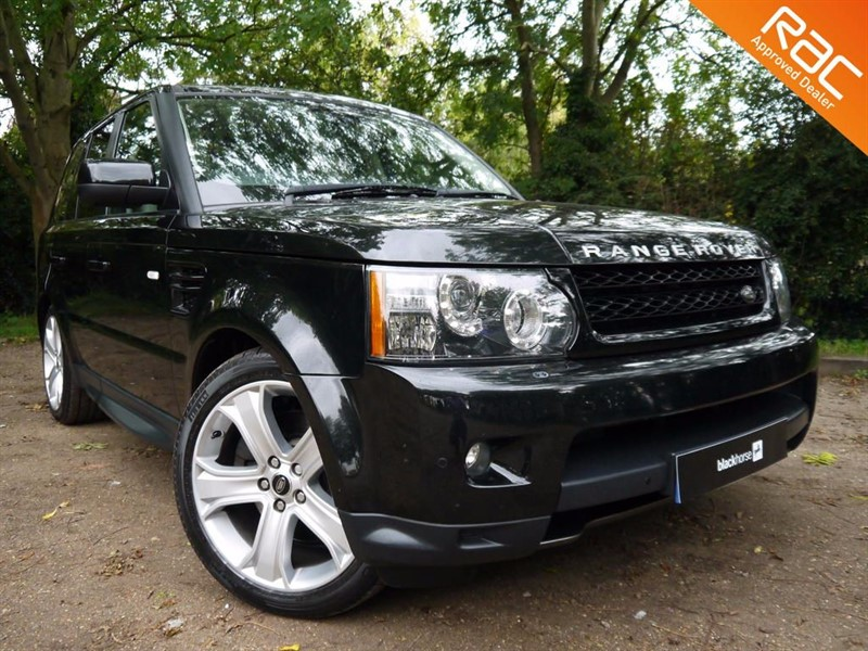 used Land Rover Range Rover Sport SDV6 HSE BLACK Edition for sale in Hitchin-Hertfordshire