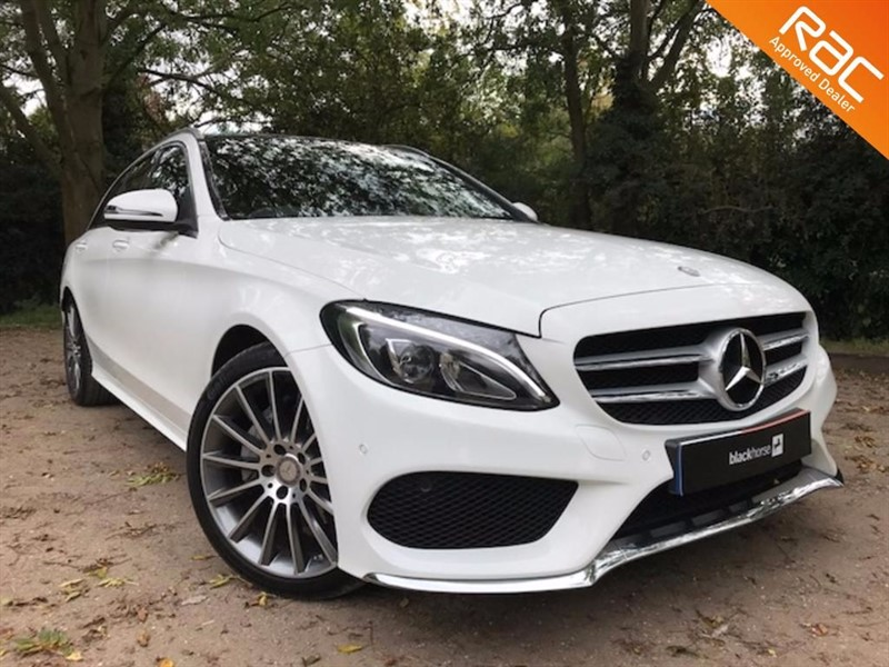 used Mercedes C220 D AMG LINE PREMIUM PLUS in Hitchin-Hertfordshire