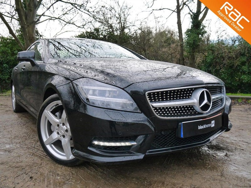 used Mercedes CLS350 CDI SPORT AMG in Hitchin-Hertfordshire