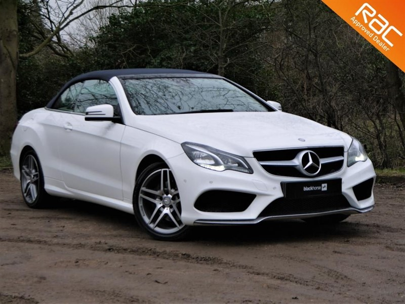 used Mercedes E220 AMG Convertible in Hitchin-Hertfordshire