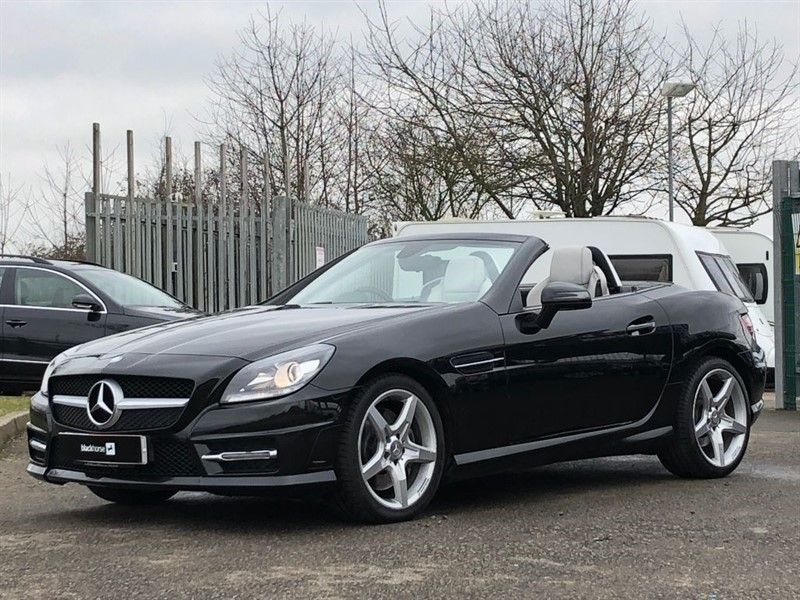 used Mercedes SLK SLK250 CDI BLUEEFFICIENCY AMG SPORT in Hitchin-Hertfordshire