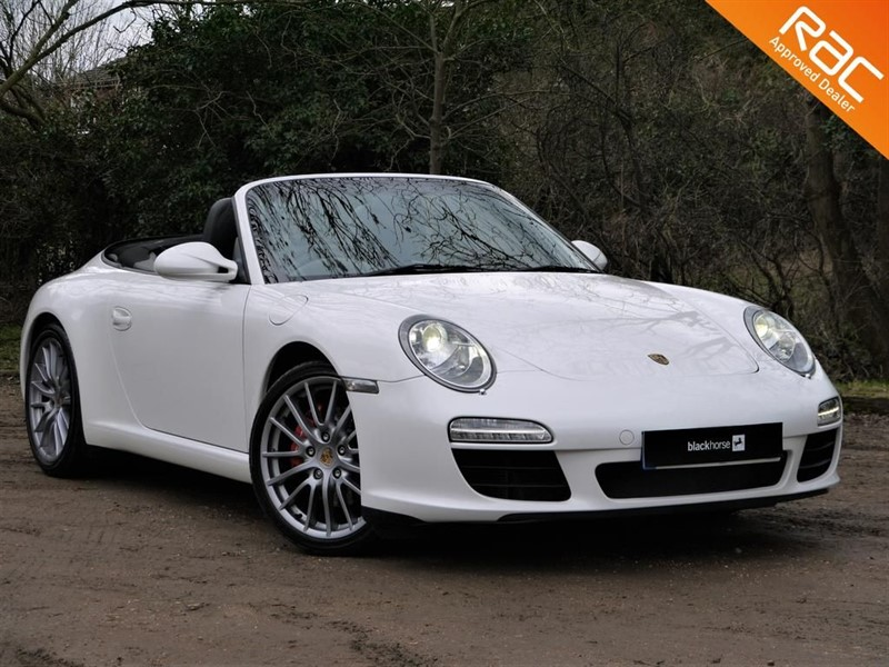 used Porsche 911 3.8 Carrera S Convertible For Sale in Hitchin-Hertfordshire