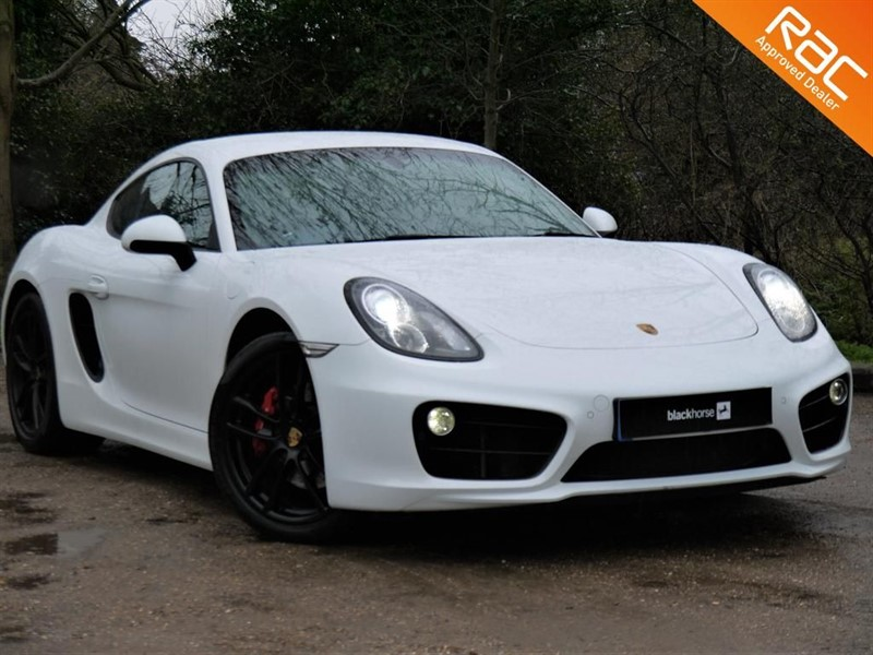 used Porsche Cayman 981 S with £8000 of optional Extras! in Hitchin-Hertfordshire