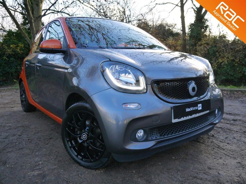 used Smart Car Forfour EDITION 1 TURBO in Hitchin-Hertfordshire