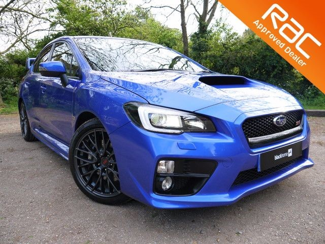 used Subaru WRX STI TYPE UK in Hitchin-Hertfordshire