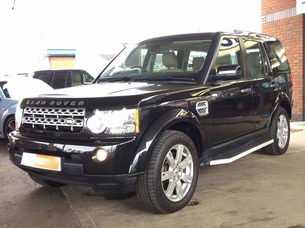 used black land rover discovery for sale bedfordshire. Black Bedroom Furniture Sets. Home Design Ideas