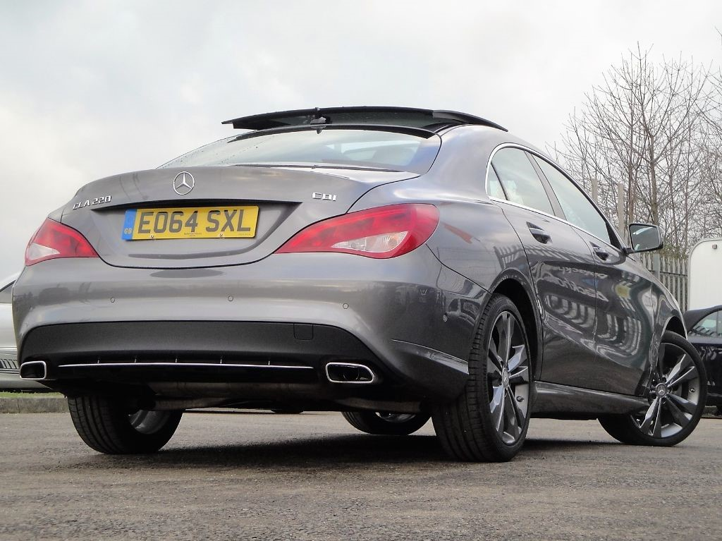 used grey mercedes cla 220 cdi for sale bedfordshire. Black Bedroom Furniture Sets. Home Design Ideas