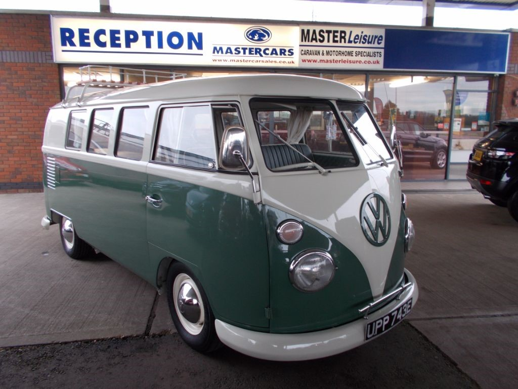 Used Green And White VW Camper For Sale