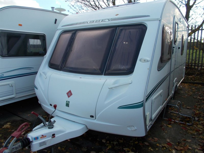 used Abbey Aventura 317 Fixed bed 4 berth in sandy-bedfordshire