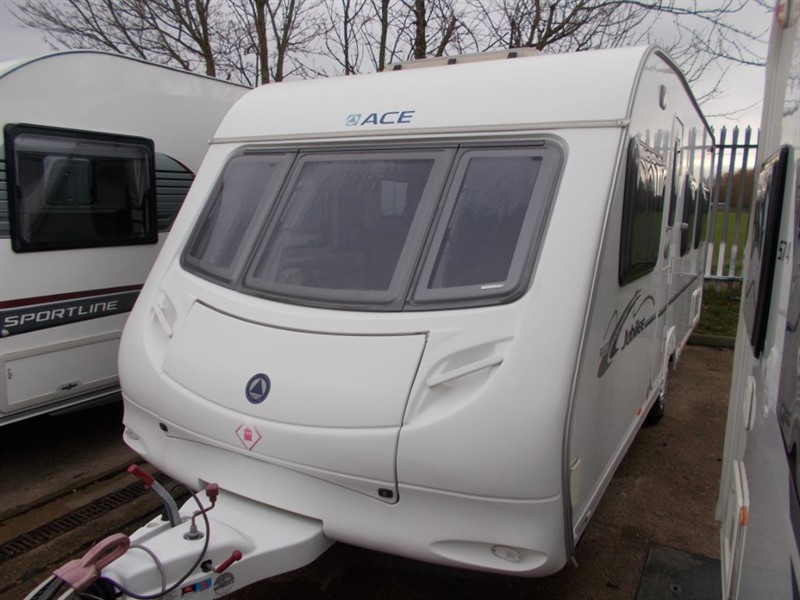 used ACE Jubilee Aristocrat 4 Berth Fixed Bed in sandy-bedfordshire