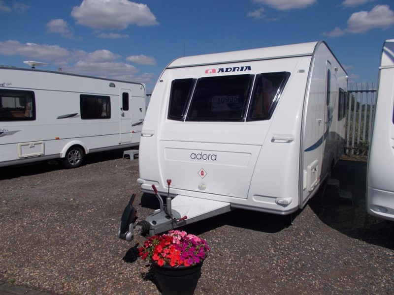 used Adria  Adora 542DL Twin Single Beds in sandy-bedfordshire