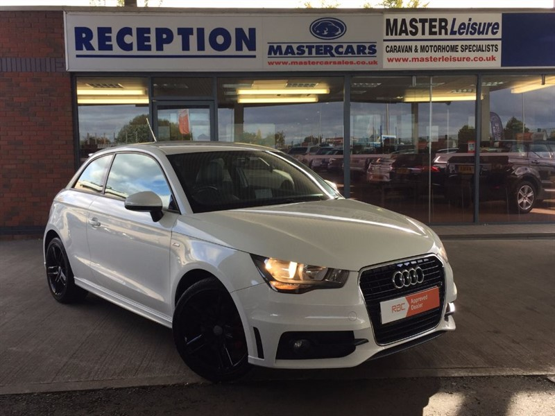 used Audi A1 TFSI S LINE for sale in Sandy Bedfordshire in sandy-bedfordshire