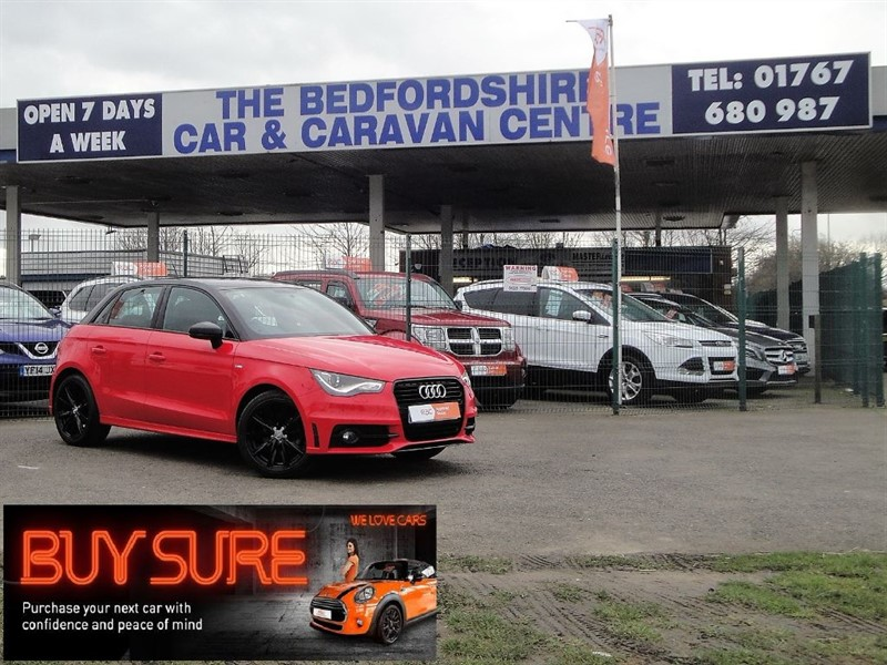 used Audi A1 SPORTBACK TFSI S LINE STYLE EDITION in sandy-bedfordshire