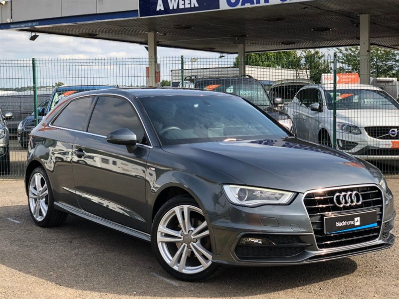 used Audi A3 TFSI S LINE in sandy-bedfordshire