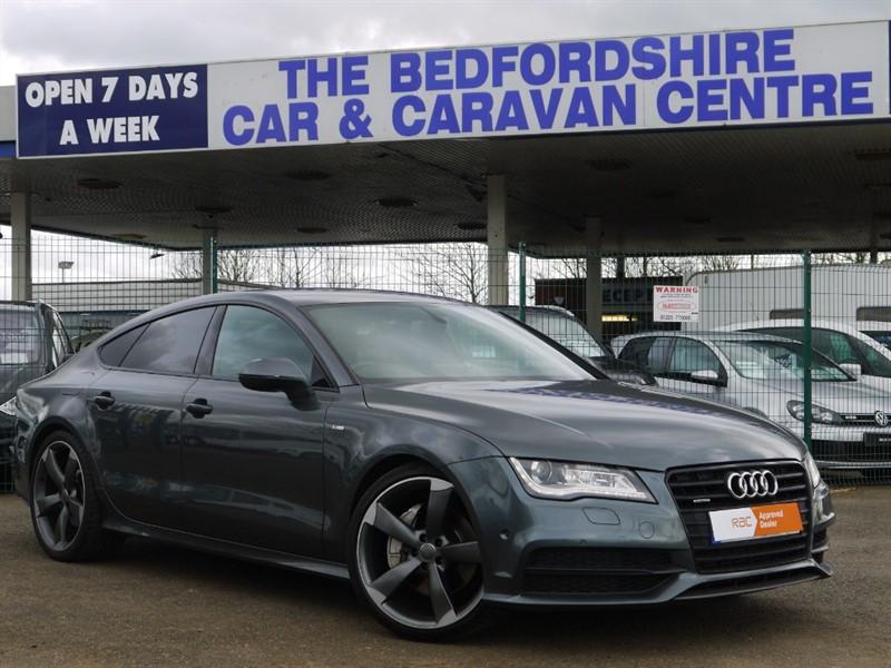 used Audi A7 TDI QUATTRO S LINE BLACK EDITION in sandy-bedfordshire