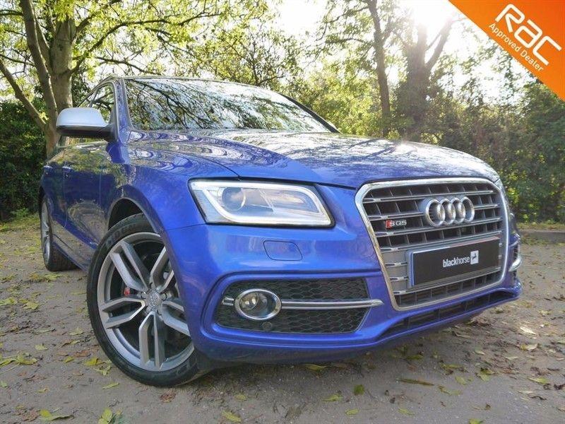 used Audi Q5 SQ5 TDI QUATTRO in sandy-bedfordshire