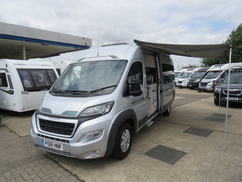 used Auto-Sleepers Kingham 2 Berth Fixed Bed Premium Pack in sandy-bedfordshire