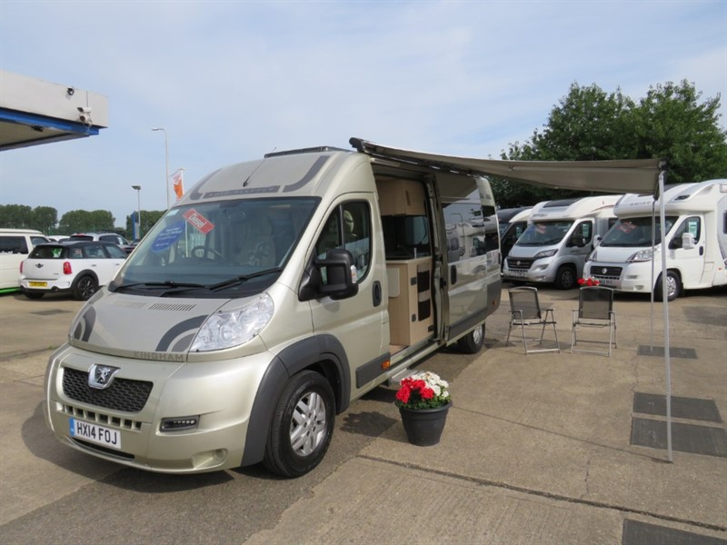 used Auto-Sleepers Kingham 2 Berth Fixed Bed With Premium Pack in sandy-bedfordshire