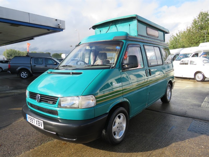 used Auto-Sleepers Trooper VW Camper Automatic 2.5 Tdi  Pop Top in sandy-bedfordshire