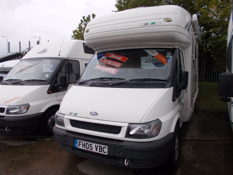 used Autosleeper  Ravenna Automatic 4 Berth in sandy-bedfordshire