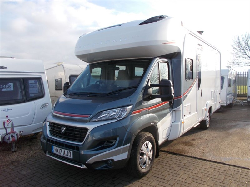 used Autotrail Apache 632 Fixed Bed 150 bhp Diesel Automatic Low Miles Sat Nav in sandy-bedfordshire