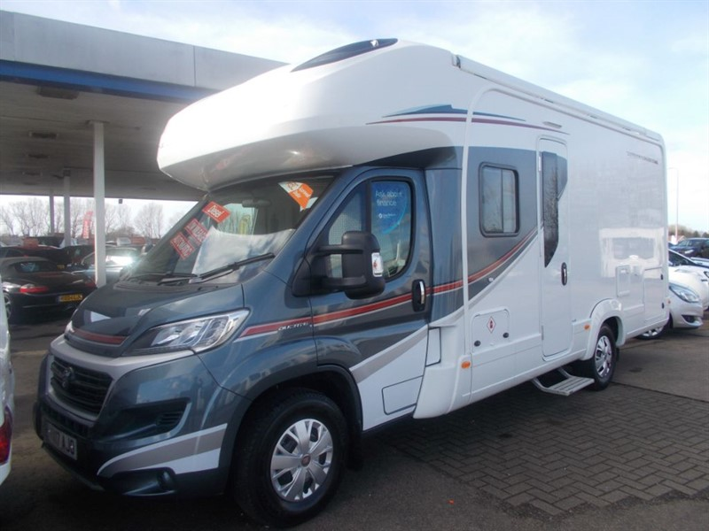 used Autotrail Apache 632 Fixed Bed 150 bhp Diesel Automatic Sat Nav in sandy-bedfordshire