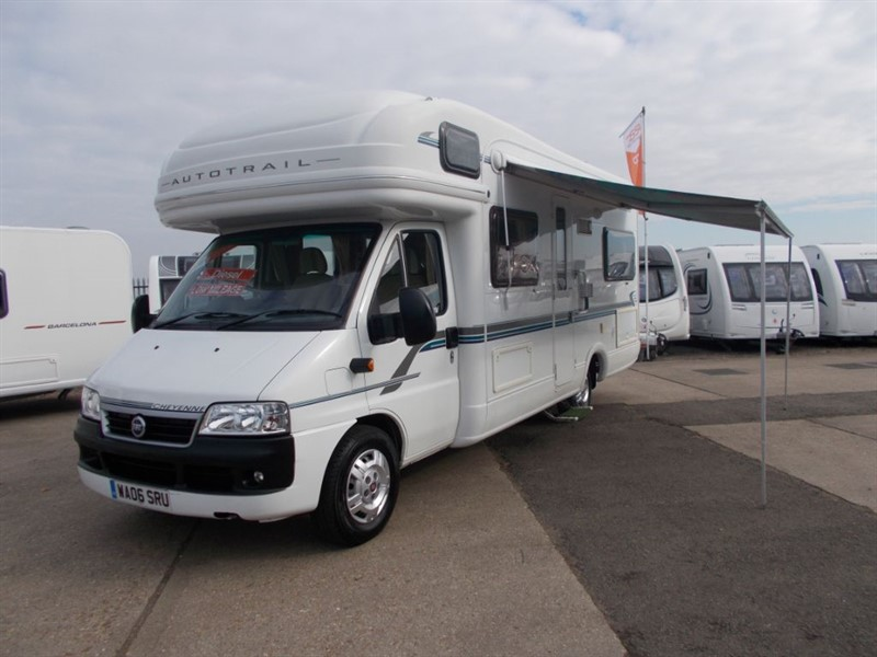 used Autotrail Cheyenne 660 SE Fixed bed 5/6 berth in sandy-bedfordshire