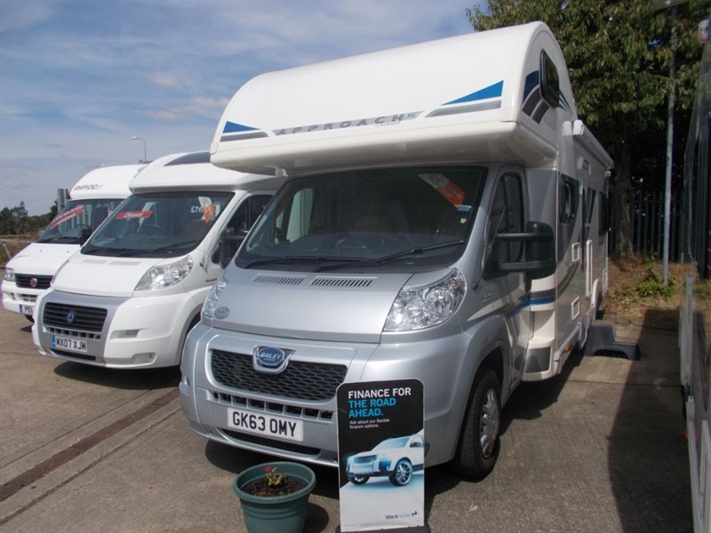 used Bailey Approach 760 SE 2.2hdi 6 berth 130bhp in sandy-bedfordshire