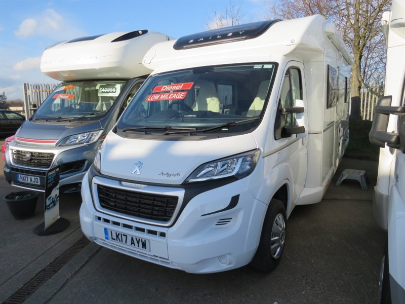 used Bailey Autograph 75/2 Fixed Bed Low Miles in sandy-bedfordshire