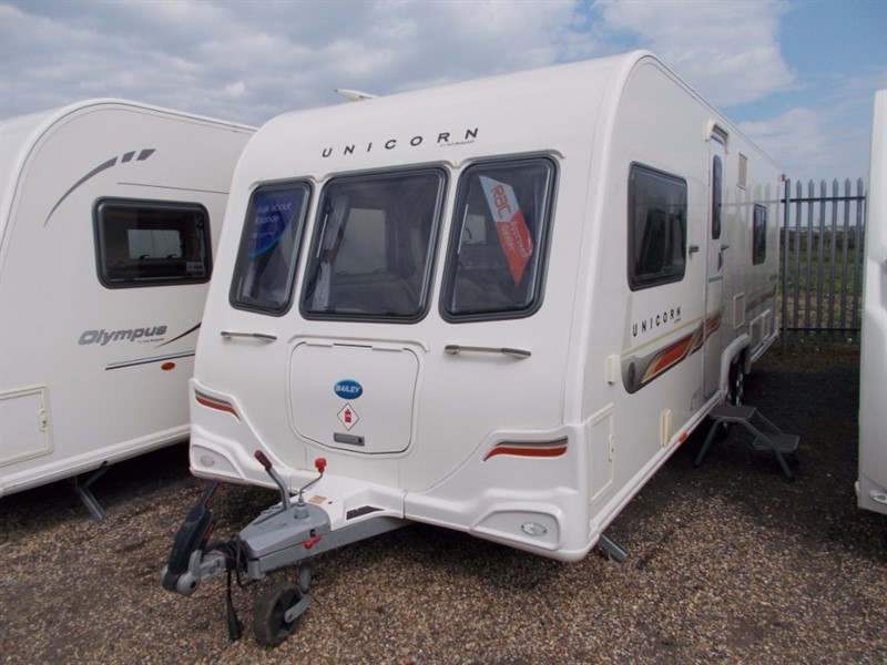 used Bailey  Unicorn Barcelona Twin Axle in sandy-bedfordshire