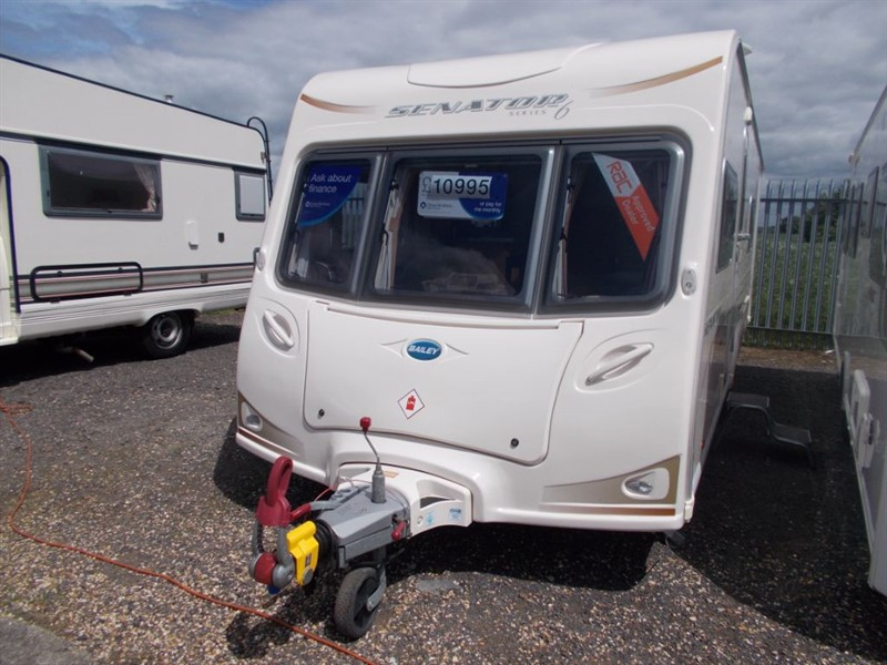 used Bailey  Wyoming Fixed Bed Twin Axle in sandy-bedfordshire