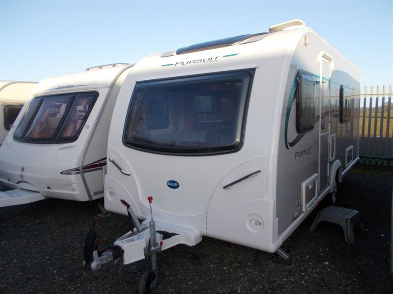 used Bailey  Pursuit 430/4 Berth Fixed bed Alu Tech in sandy-bedfordshire