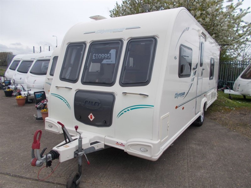 used Bailey Olympus 534 Fixed Bed in sandy-bedfordshire