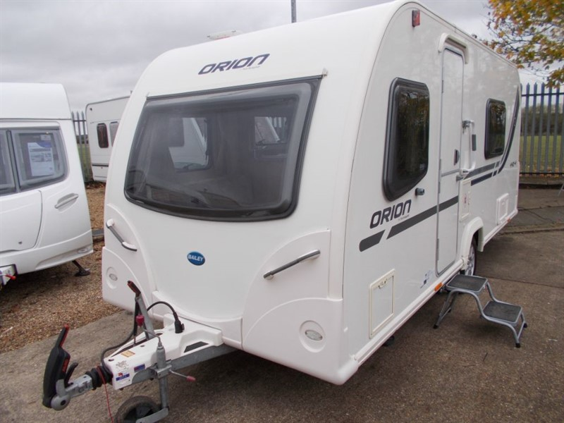 used Bailey Orion 440/4 Berth with Awning and Mover in sandy-bedfordshire