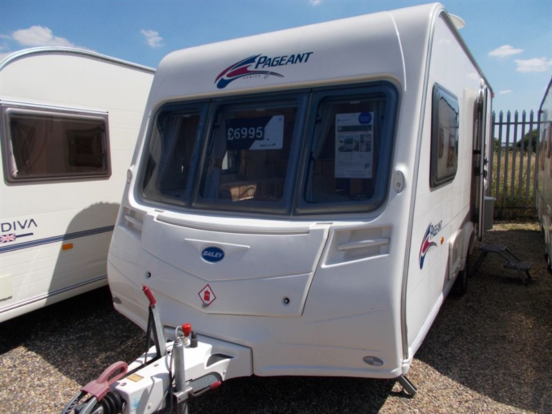 used Bailey Pageant Monarch 2 Berth End Bathroom in sandy-bedfordshire