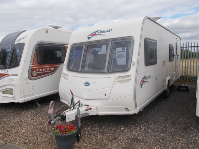 used Bailey Pageant Pageant Bretagne 6 Berth in sandy-bedfordshire