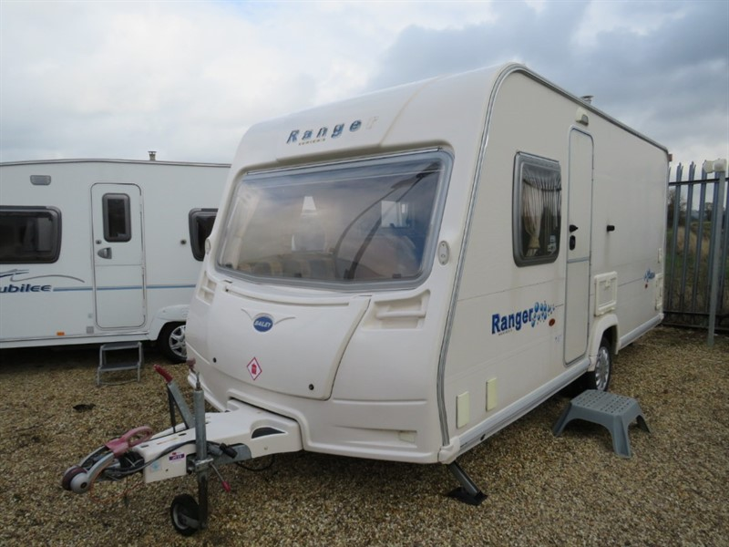 used Bailey Ranger  460/4 Fixed Bed 4 berth in sandy-bedfordshire