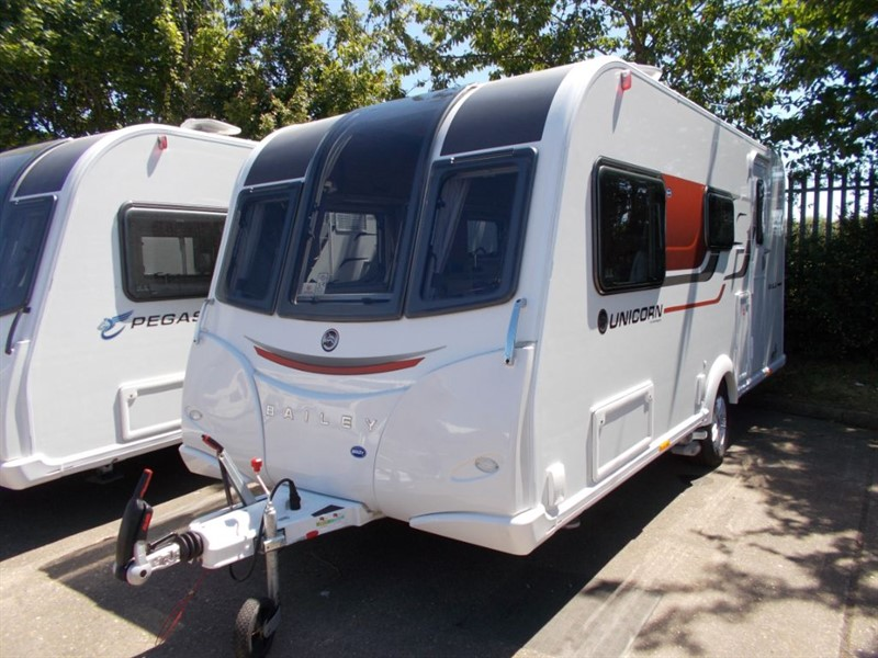 used Bailey Unicorn  Seville Series3 2 berth in sandy-bedfordshire