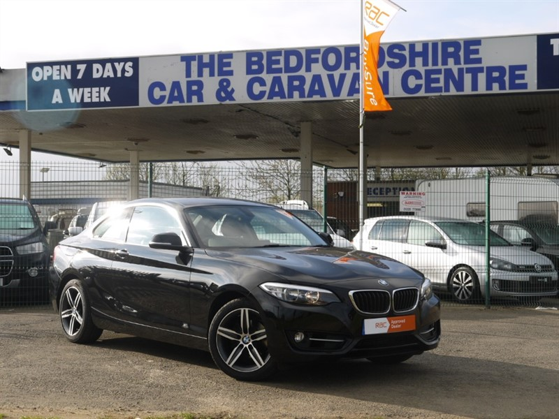 used BMW 218i SPORT in sandy-bedfordshire