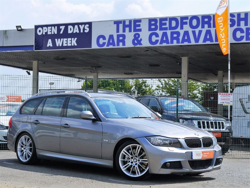 used BMW 330d M SPORT TOURING in sandy-bedfordshire