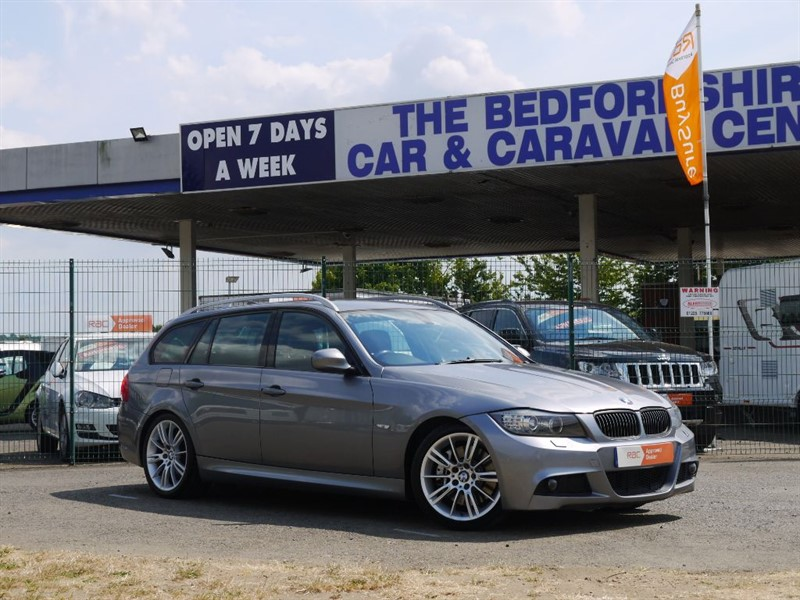 used BMW 330d M SPORT 3.0 DIESEL AUTOMATIC ESTATE in sandy-bedfordshire