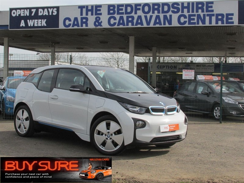 used BMW i3 Suite Edition with Range Extender in sandy-bedfordshire