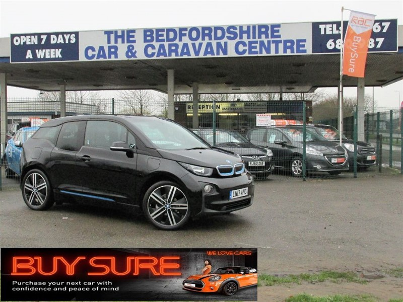 used BMW i3 Suite Edition with the Range Extender in sandy-bedfordshire