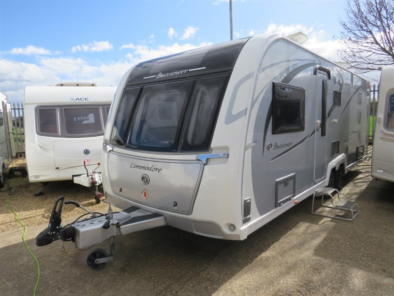 used Buccaneer  Commodore Island Bed 2017 in sandy-bedfordshire