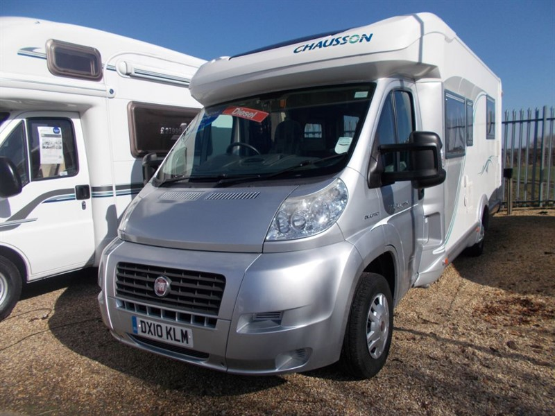 used Chausson Welcome 72 Fiat 2.3 TD 130Multijet Island bed in sandy-bedfordshire