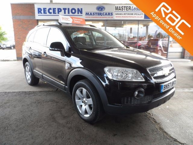 used Chevrolet Captiva 2.0 7 Seat 4x4 SUV for sale in Sandy Bedfordshire in sandy-bedfordshire