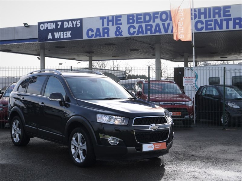 used Chevrolet Captiva LTZ VCDI  7 SEAT AUTOMATIC in sandy-bedfordshire