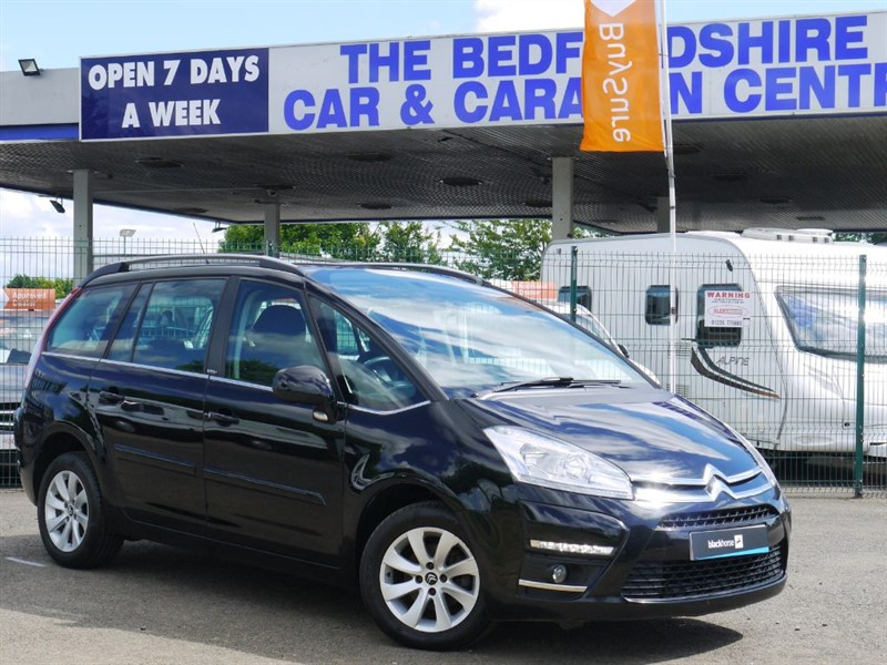 used Citroen C4 GRAND PICASSO VTR PLUS HDI EGS in sandy-bedfordshire