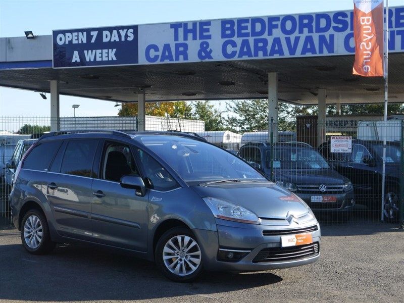 used Citroen C4 GRAND PICASSO EXCLUSIVE HDI EGS in sandy-bedfordshire