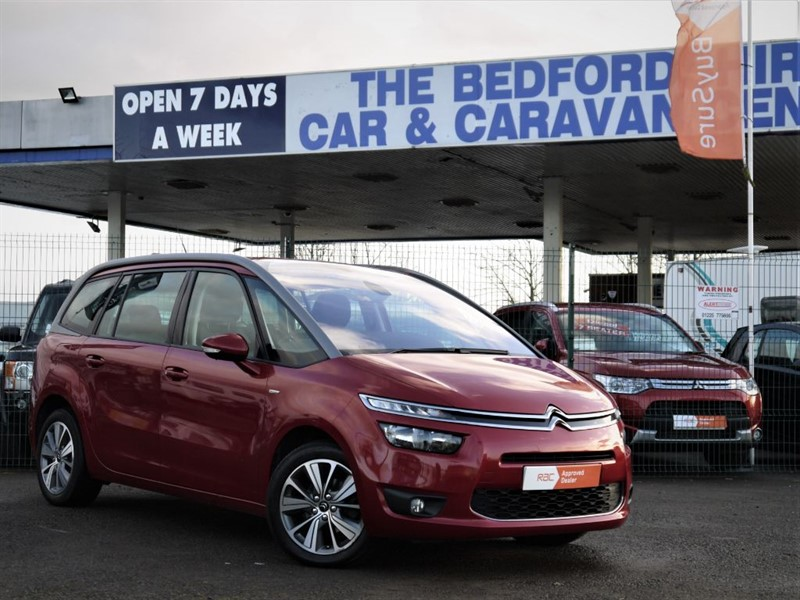 used Citroen C4 GRAND PICASSO BLUEHDI EXCLUSIVE in sandy-bedfordshire